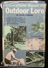 COMPLETE GOOK OF OUTDOOR LORE, ORMOND, HB DJ, IDENTIFYING FINDING SPOTTING ETC
