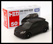 TOMICA #50 FORD FOCUS RS 1/62 TOMY 2014 NEW DIECAST CAR Matte Black