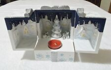 Christmas Magical Music Box - Tealight Holder -  PartyLite New In Box