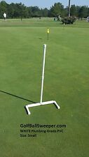 Golf Ball Sweeper (WHITE - SMALL)