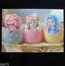 Leanin Tree Easter Greeting Card Flowers Baby Babies Eggs Multi Color E11
