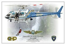 Eurocopter AS-350-B3 - CHP California Highway Patrol - Profile