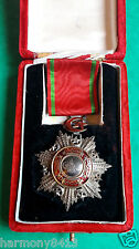 OTTOMAN EMPIRE TURKEY XRARE ORDER OF MEDJIDIE - BEAUTIFUL BOXED KNIGHT'S CROSS