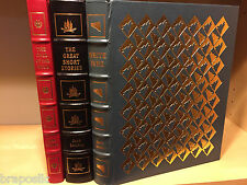 Easton Press JACK LONDON: WHITE FANG, CALL OF THE WILD, SHORT STORIES 3 vol