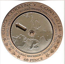 ISLE OF MAN 60 PENCE 2002 Bi-M UNC EURO CURRENCY CONVERTER