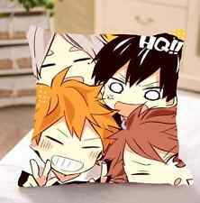 Anime Haikyuu!! Shouyou Hinata Tobio Kageyama Doube side Pillow Cushion 2wt