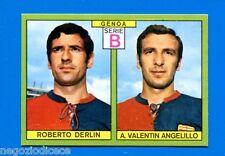 CALCIATORI PANINI 1968-69 - Figurina-Sticker - DERLIN-ANGELILLO GENOA -Rec