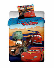 Disney Cars Single Duvet Cover 2016 Set Reversible 100% Cotton By BestTrend®