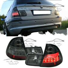 REAR LED TAIL LIGHTS SMOKE FOR BMW E46 98-05 SERIES 3 TOURING LAMP FANALE
