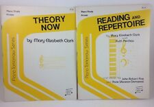 Lot Of 2 Piano Primer Books Theory Now & Reading Repertoire Mary Elizabeth Clark