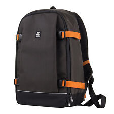 Crumpler Proper Roady Full Photo Backpack DSLR Camera Bag Rucksack - Grey Black
