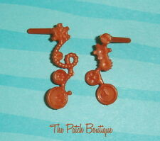 ✿ MONSTER HIGH 1ST ORIGINAL ROBECCA STEAM STEAMPUNK GEARS DOLL EARRINGS ONLY ✿