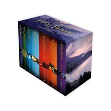 The COMPLETE Harry Potter Boxed Collection J.K Rowling 7 Books Box Set NEW