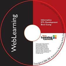 Informatica 9.6.x: intégration de données & etl développement boot camp self-study cbt