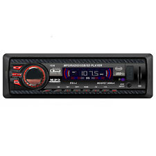 Autorradio Audio Dentro Salpicadero FM Con Mp3 Player USB SD Entrada AUXILIAR