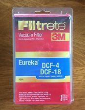 NEW 3M Filtrete HEPA Vacuum Filter Eureka DCF-4 & DCF-18