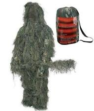 Ghillie Suit XL/2X 3D Camouflage Complete 4 Pc. Hood, Rifle Wrap, Pants, Jacket