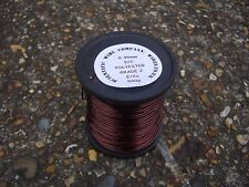 1mm - ENAMELLED COPPER WINDING WIRE hi temp. COIL WIRE - 500 Gram Spool