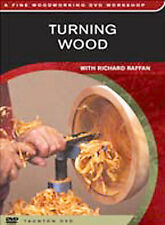 NEW!! Fine Woodworking - Turning Wood (DVD, 2004)