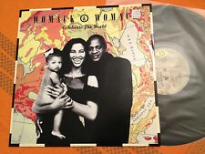 "WOMACK & WOMACK - Celebrate The World / Friends (So Called) '89 Aus 12"" NMINT+"