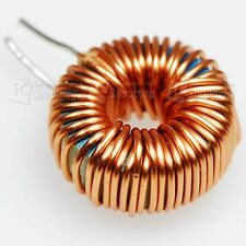 5PCS OF 15mm 100UH 6A Lead Toroid Power Inductors, ring winding inductance coil