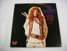 TED NUGENT & THE AMBOY DUKES - SURVIVAL OF THE FITTEST LIVE - LP REISSUE VINYL