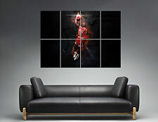 Michael Jordan Dunk Mural  Wall Art Poster Grand format A0 Large Print