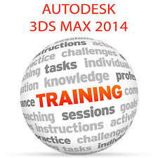 Autodesk 3DS Max 2014-Video Tutorial DVD de entrenamiento