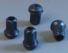 "4 Pack 3/8"" Rubber Tips- Cane, Crutch or Chair        CT-375-B"