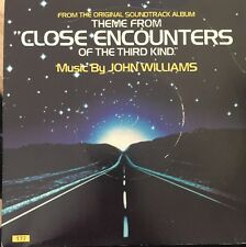 "JOHN WILLIAMS "" THEME FROM CLOSE ENCOUNTERS OF THE THIRD KIND "" 7"" SINGLE 1977"