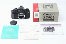 C013-686**UNUSED**Canon New F-1 AE in Box  Final model [No,305XXX] from Japan