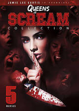 Queens of Scream - 4 Movie (DVD, 2016) w/fast FREE Shipping!