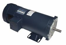 3/4 hp 1800 RPM 56C Frame 12 Volts DC TEFC Leeson Electric Motor # 108048