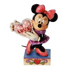 Disney Traditions My Love Minnie Mouse With Heart Figurine New Boxed 4026085