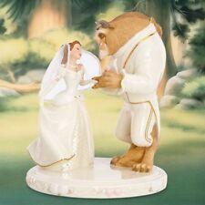 Lenox Disney Beauty The Beast Belle's Wedding Dreams Cake Topper Figurine