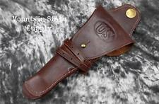 LH m1912 US Cavalry Colt 45 Auto 1911 m1911 Pistol Leather Swivel WWI Holster