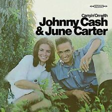 Carryin' On [Bonus Tracks] [Remaster] by Johnny Cash/June Carter  CD  SEALED NEW
