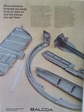 2/1973 PUB ALCOA ALUMINIUM PRECISION FORGING AEROSPACE INDUSTRY ORIGINAL AD