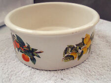 PORTMEIRION OVEN TO TABLE DISH NOW DECORATIVE  ORANGES AND LEMONS PATTERN