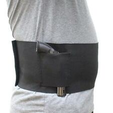 "Large Size 38-48"" Waist Concealed Belly Band Holster Elastic Band Pistol Holster"