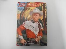 1946 ROY ROGERS & THE RAIDERS OF SAWTOOTH RIDGE BOOK - HC & JACKET - COLLECTIBLE