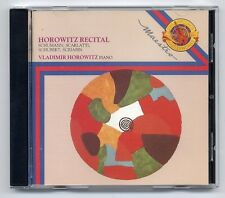 Vladimir Horowitz CD Recital 1st press JAPAN-FOR-EUROPE MYK 42534 Piano