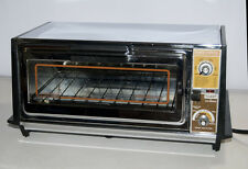 Vtg General Electric GE Chrome A63126 Toast-R-Oven Toaster Oven Broiler