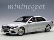 AUTOart 76292 MERCEDES BENZ MAYBACH S-KLASSE S 600 1/18 MODEL CAR SILVER