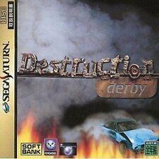 USED Destruction Derby japan import SEGA Saturn