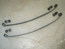 Escort Mk2 Rs2000 Mexico New Rear 146lb Leaf Springs Inc Poly Bush Kit