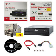 LG 24X CD DVD Burner+FREE 1pk MDisc DVD+SW+SATA Cable GH24NSC0R Internal Writer