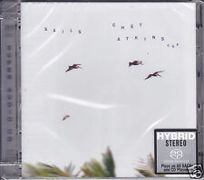 """""""Chet Atkins - Sails"""" Limited Numbered Stereo Hybrid DSD SACD Audiophile CD Sony"""