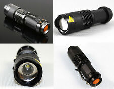 New Zoomable 1600 lumens LED Flashlight Torch Cree XML-T6 SK98-T6 Model 5-Mode