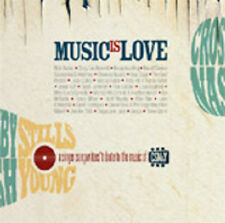 AA.VV, Music is Love (Tribute to CSN&Y) 2 CD  international rock